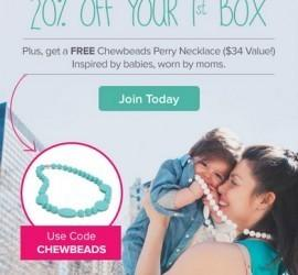Citrus Lane 20% Off + Free Chewbeads Perry Necklace - 3 Hours Only