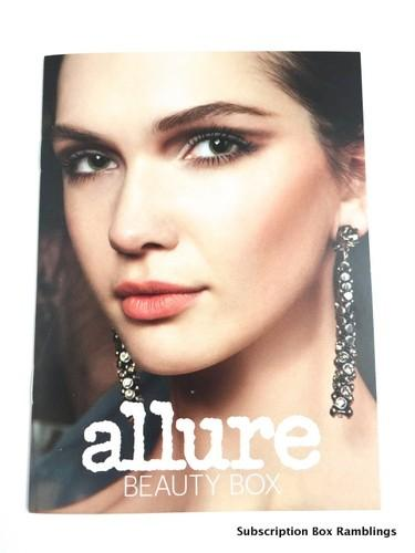 Allure Beauty Box October 2015 Subscription Box Review