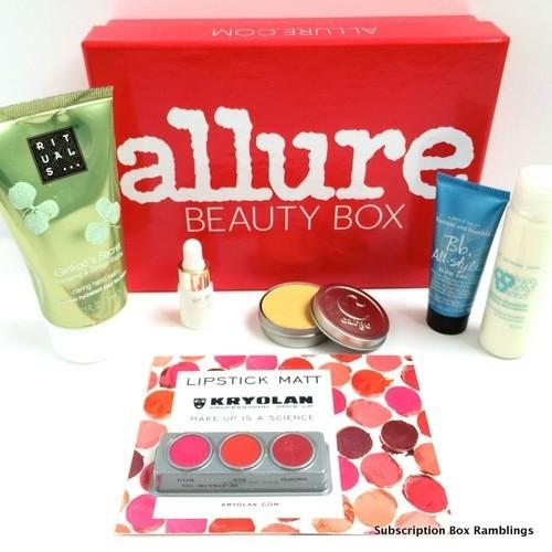 Allure Beauty Box Review – October 2015