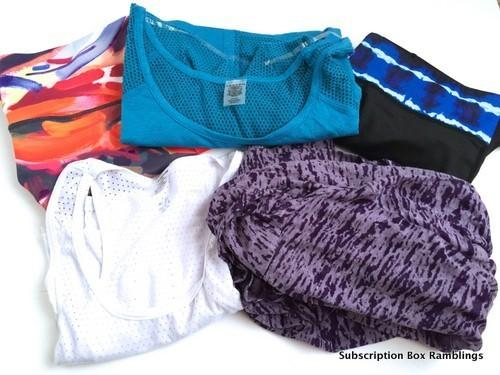 Wantable Fitness Edit September 2015 Subscription Box Review