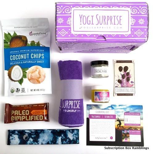 Yogi Surprise October 2015 Subscription Review + Coupon Code