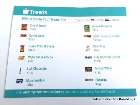 Treats October 2015 Subscription Box Review