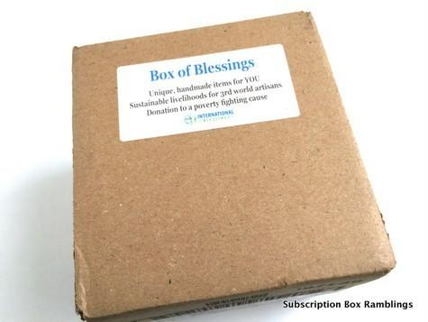 International Box of Blessings October 2015 Review + Coupon Code