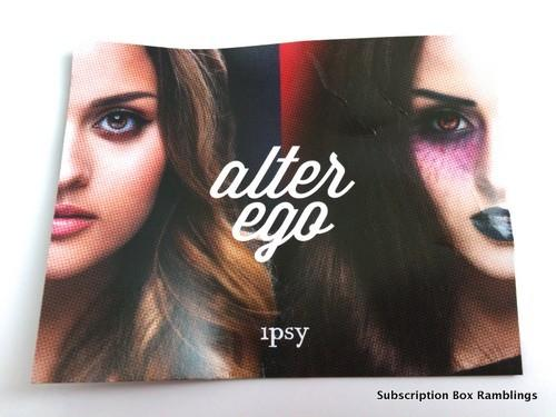 "ipsy October 2015 Subscription Review - ""Alter Ego"""