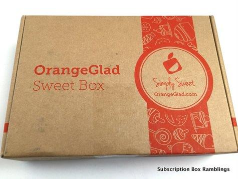 Orange Glad October 2015 Subscription Box Review + Coupon Code
