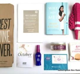 POPSUGAR Must Have Box October 2015 Subscription Box Review + Coupon Code