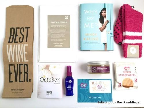 POPSUGAR Must Have Box Review + Coupon Code – October 2015