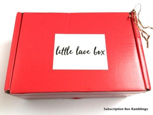 Little Lace Box October 2015 Review + Coupon Code