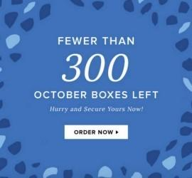 POPSUGAR October 2015 Subscription Box - Less than 300 Boxes Remain!