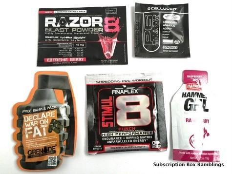 Super Gains Pack October 2015 Subscription Box Review