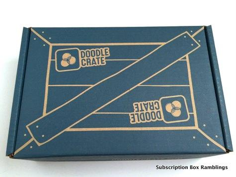 Doodle Crate Review Coupon Code October 2015 Subscription Box