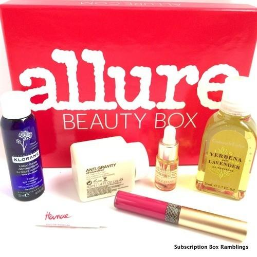 Allure Beauty Box Review – November 2015