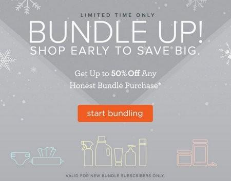 To save money on Honest Company items, customers can buy products in bundles. This convenient subscription program gives families discounts of up to 25% .