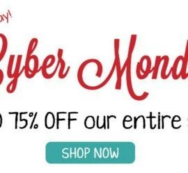 Citrus Lane Cyber Monday Sale - Save Up to 75% off ALL Shop items!