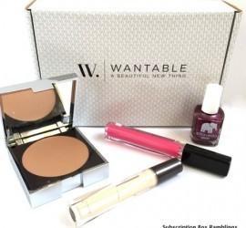 Wantable Makeup December 2015 Subscription Box Review