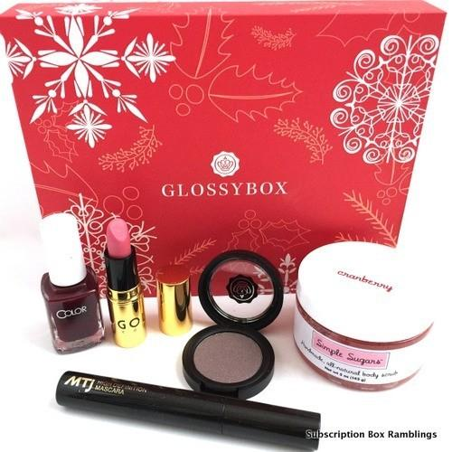 GLOSSYBOX Review + Coupon Code – December 2015