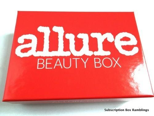 Allure Beauty Box December 2015 Subscription Box Review
