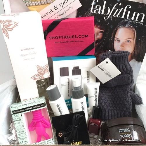 FabFitFun Review + Coupon Code – Winter 2015