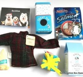 BarkBox December 2015 Subscription Box Review - + Coupon Code