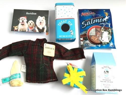 BarkBox Review + Coupon Code – December 2015