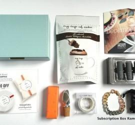 POPSUGAR Must Have Box December 2015 Subscription Box Review