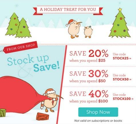 Kiwi Crate Stock Up & Save Shop Coupon Codes + 50% Off Box Offer!