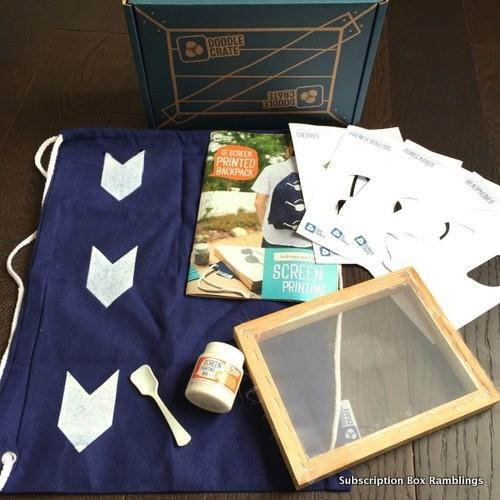 Doodle Crate Review + Coupon Code – December 2015