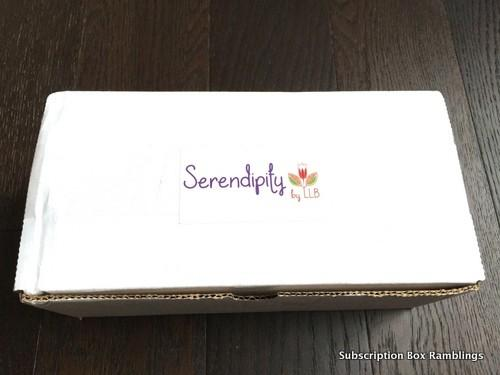 Serendipity by Little Lace Box January 2016 Review + Coupon Code