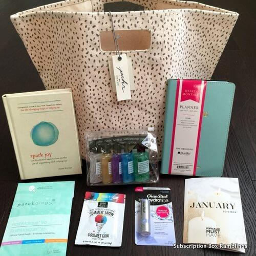 POPSUGAR Must Have Box Review + Coupon Code – January 2016