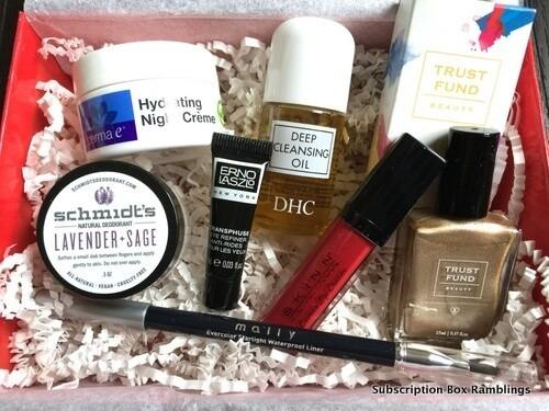 Allure Beauty Box Review – January 2016
