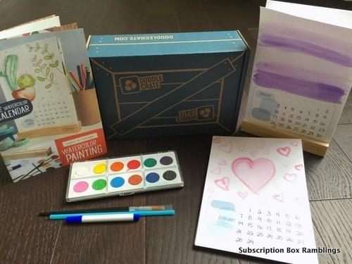 Doodle Crate Review + Coupon Code – January 2016