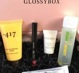 GLOSSYBOX January 2016 Subscription Box Review + Coupon Code