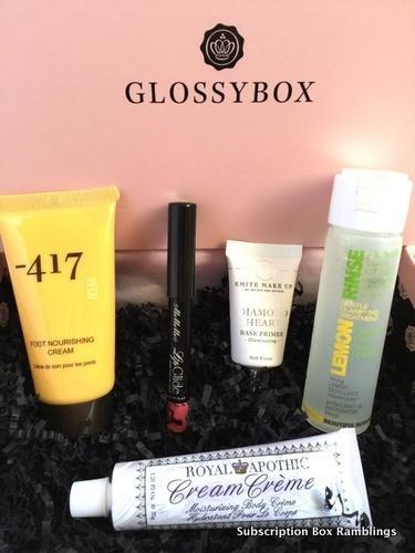 emite mascara glossybox
