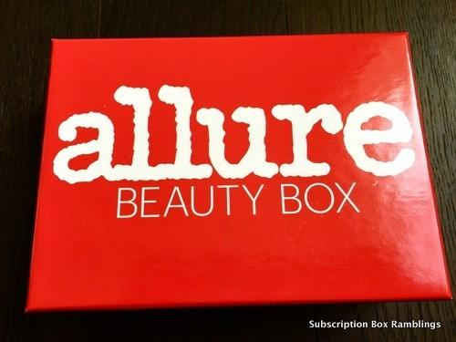 Allure Beauty Box February 2016 Subscription Box Review