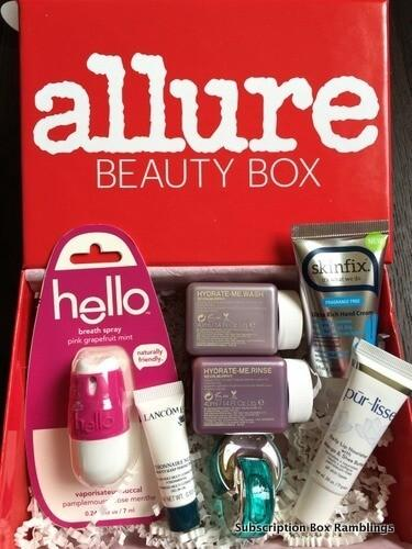 Allure Beauty Box Review – February 2016