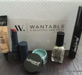 Wantable Makeup February 2016 Subscription Box Review