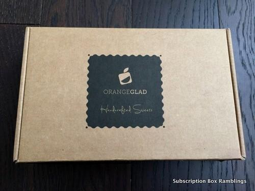 Orange Glad February 2016 Subscription Box Review + Coupon Code
