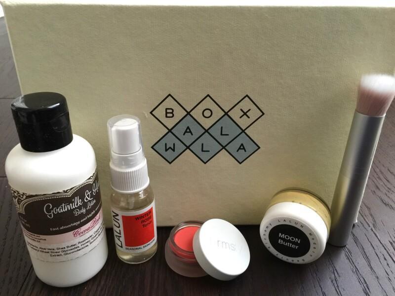 BOXWALLA Beauty Box Review – February 2016