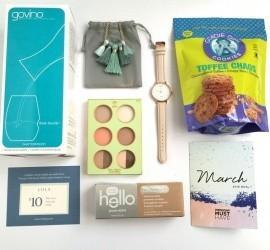 POPSUGAR Must Have Box March 2016 Subscription Box Review + Coupon Code