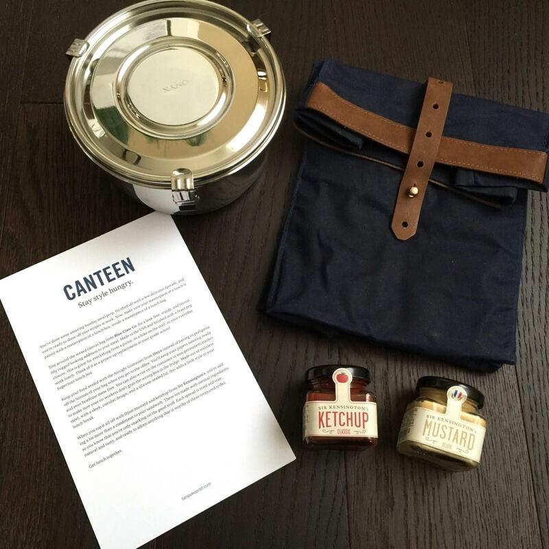 """Bespoke Post Review + Coupon Code – March 2016 """"Canteen"""""""