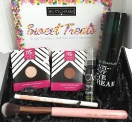"""BOXYCHARM March 2016 Subscription Box Review - """"Sweet Treats"""""""
