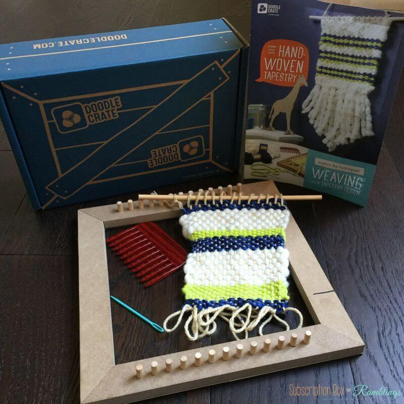 Doodle Crate Review + Coupon Code – March 2016
