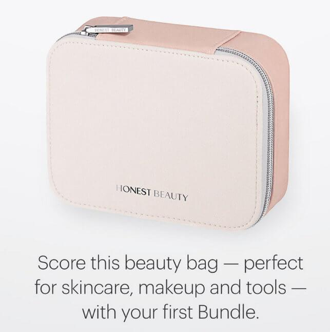 Honest Beauty Get A Free Makeup Bag With Your First Bundle Last