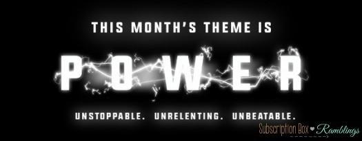 Loot Crate May 2016 Theme Reveal - Power!