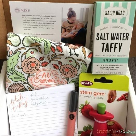 Mommy Mailbox Review – April 2016