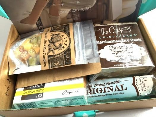 Orange Glad April 2016 Subscription Box Review