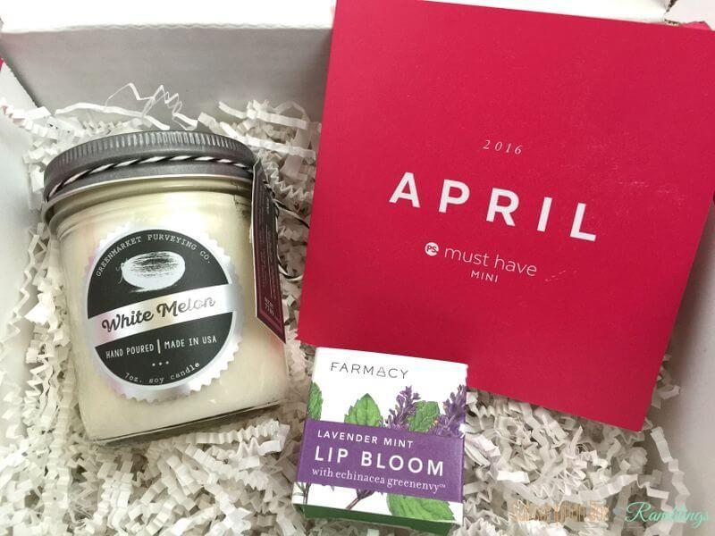 POPSUGAR Must Have Mini April 2016 Subscription Box Review