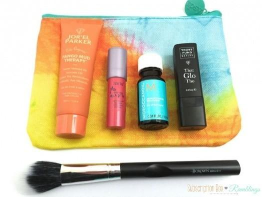 ipsy April 2016 Subscription Box Review