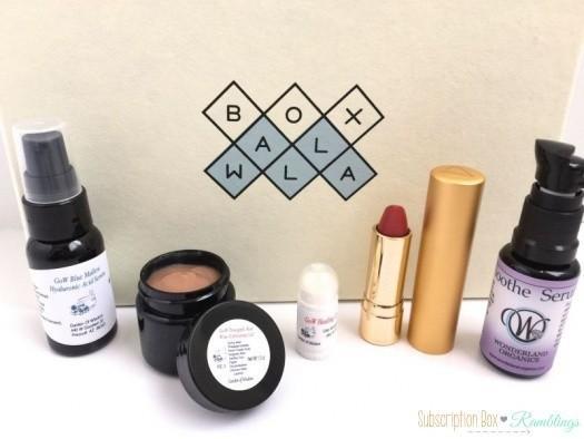 BOXWALLA Beauty Box April 2016 Subscription Box Review