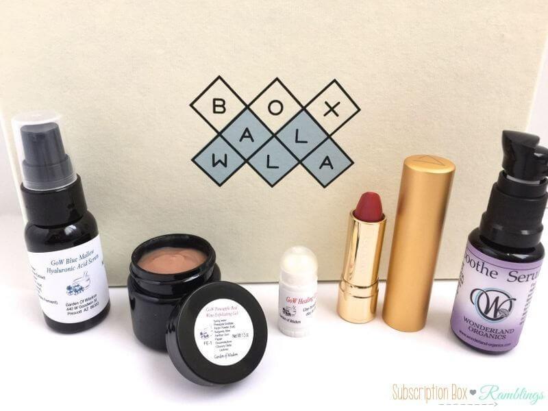 BOXWALLA Beauty Box Review – April 2016